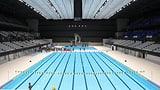 Olympische Schwimm-Arena in Tokio eröffnet (Artikel enthält Video)