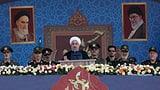 Irans Präsident warnt vor «Unsicherheit» in der Region (Artikel enthält Video)