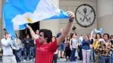 Die Welt freut sich mit Argentinien (Artikel enthält Video)