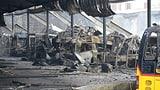 20 Postauto-Busse zerstört (Artikel enthält Video)