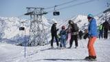 Im Skigebiet blockiert wegen brüchigem Swisspass (Artikel enthält Audio)