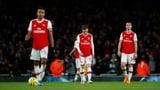 Arsenal stürzt noch tiefer in die Krise