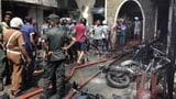 Über 185 Tote bei Explosionen in Kirchen und Luxushotels (Artikel enthält Video)