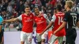 Arsenal siegt mit starkem Xhaka bei Eintracht Frankfurt