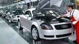 Exportindustrie spürt Auto-Krise in Deutschland (Artikel enthält Audio)