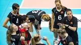 Schweizer Volleyballerinnen wollen Historisches schaffen