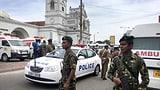 Explosionen in Kirchen und Luxushotels