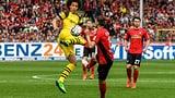 Dortmund spielt tapfere Freiburger schwindlig
