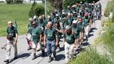 «Marsch nach Meiringen»: Ziel erreicht! (Artikel enthält Bildergalerie)