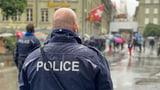 Nicht wirklich eine Demo in Bern (Artikel enthält Audio)