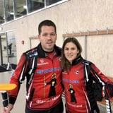Jenny Perret und Martin Rios