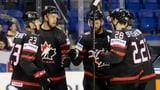 Kanada schlägt Frankreich – Schweden mit weiterem Kantersieg