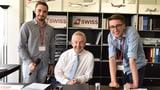 Video «Ein Tag mit dem CEO: Zwei Jugendliche und Swiss-Chef Thomas Klühr» abspielen