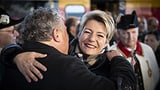 Die Ostschweiz empfängt ihre Bundesrätin (Artikel enthält Video)