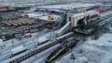 Unglück mit Hochgeschwindigkeitszug in Ankara