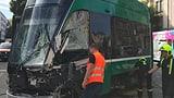 Schwerer Tramunfall in Basel  (Artikel enthält Video)