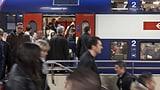 Passagiere stehen sich in der S-Bahn gegenseitig auf den Füssen (Artikel enthält Audio)