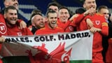 «Wales. Golf. Madrid.» (Artikel enthält Audio)