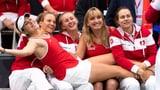 Bencic sichert Schweizer Fed-Cup-Team den Sieg (Artikel enthält Video)