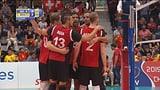 Volleyballer unterliegen Mazedonien (Artikel enthält Video)