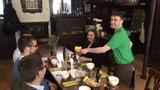 Ein Restaurant, das von Menschen mit Handicap betrieben wird (Artikel enthält Audio)