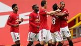 Manchester Uniteds Erfolgsserie hält an