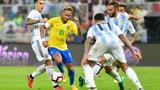 Brasilien gewinnt Jubiläums-«Superclasico» (Artikel enthält Video)
