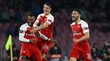 Xhaka mit Arsenal im EL-Halbfinal (Artikel enthält Video)