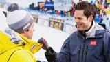 Weshalb interviewt SRF manche Skifahrer in englischer Sprache?