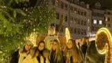 Auch der Münsterhof hat jetzt seinen Weihnachstmarkt (Artikel enthält Audio)