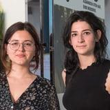 Arzije Asani und Céline Stettler