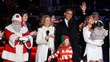 Grosse Show im Weissen Haus: Obama entzündet Weihnachtslichter (Artikel enthält Video)