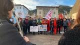 Grosse Schlusskundgebung der Klimaaktivisten fällt auseinander (Artikel enthält Video)