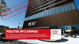 Das grosse Wahlpodium im FHNW-Campus