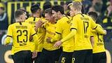 Dortmund schlägt Frankfurt mit 4:0 (Artikel enthält Audio)