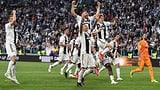Juventus holt sich den Meistertitel zum 8. Mal in Folge