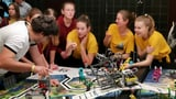 Geballte «Girl Power» an der First Lego League in Brugg (Artikel enthält Audio)