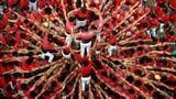Das Duell der Menschenpyramiden (Artikel enthält Video)
