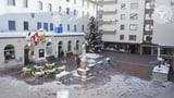 Vorbereitungen in St. Moritz  (Artikel enthält Bildergalerie)