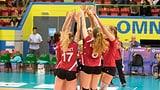 Schweizer Volleyballerinnen bodigen Albanien (Artikel enthält Video)