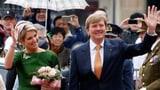 Willem-Alexander und Máxima: Erste Auslandsreise als Königspaar (Artikel enthält Video)