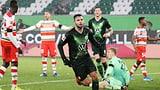 Steffen steuert Doppelpack zu Wolfsburgs Sieg bei (Artikel enthält Audio)