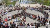 800 Demonstranten am Friedensweg in Kreuzlingen (Artikel enthält Audio)