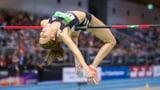 Hochspringerin Lang wieder mit Schweizer Rekord