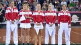 Fed-Cup-Team trifft auf Italien (Artikel enthält Audio)