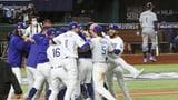 Dodgers krönen sich zum Baseball-Champion