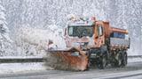 «Die Strassenverhältnisse sind winterlich»