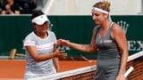Bacsinszky verpasst French Open, Perrin noch im Rennen