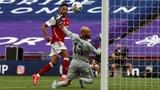 Dank Doppelpack von Aubameyang: Arsenal dreht FA-Cup-Final