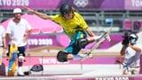 Palmer durchbricht japanische Phalanx im Skateboard (Artikel enthält Video)